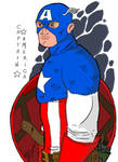 Captain Americ - iPad sketch