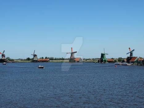 Windmills at De Zaanse Schans