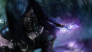 Mileena Dark/Blue MK X by AxlGtzR--Unnamed