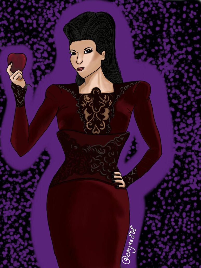 The Evil Queen.  Regina Mills. by InsanieJanie808