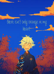 there_isn't_only_orange_in_my_heart.png by M0kyn