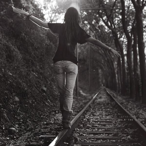 Walk the line by PhilipMatthews