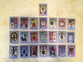 Persona Cosplay: Tarot Cards by KimuXGemini