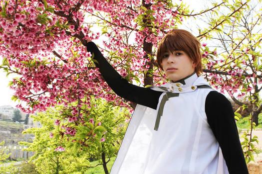 Sakura is close by..
