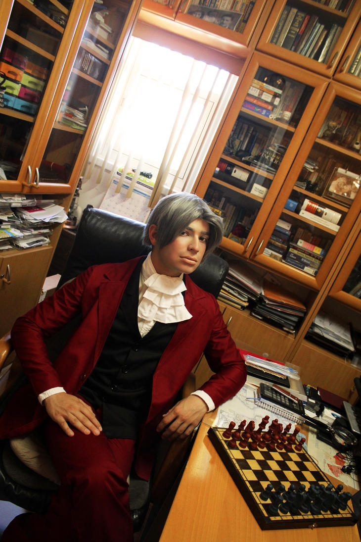 In his Office by KimuXGemini