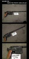 Mauser C96 Prop Gun by kay-sama