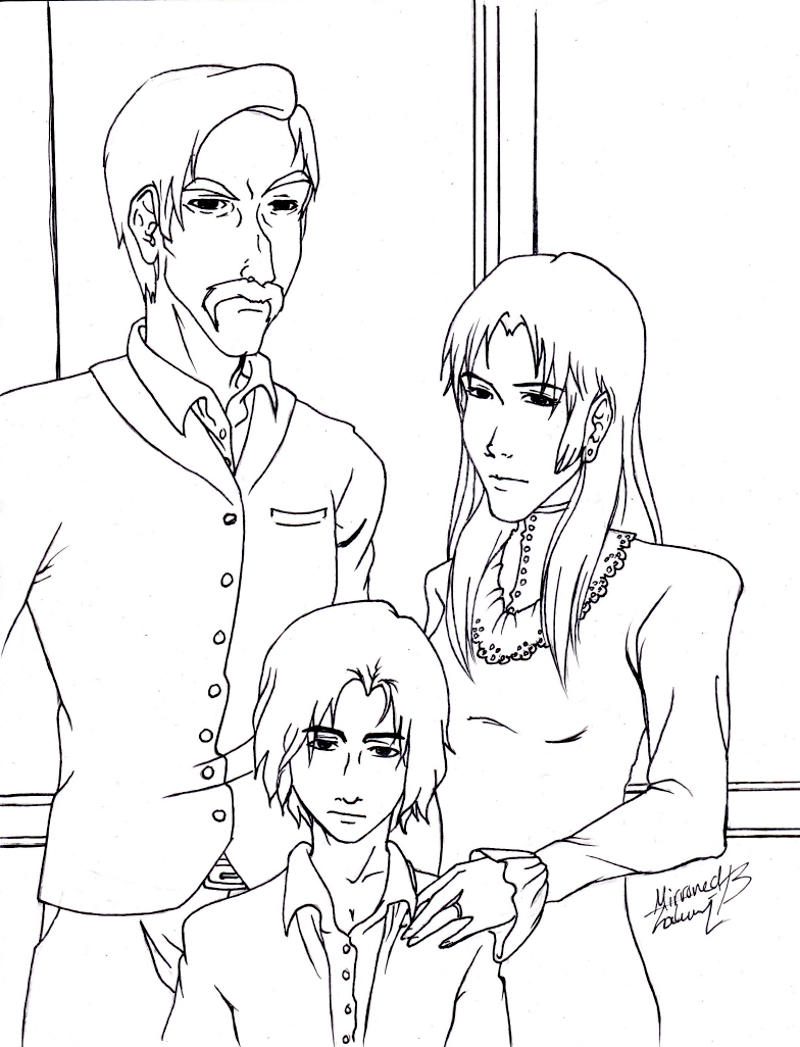 Snape Family: Unspoken Truths WIP by kay-sama