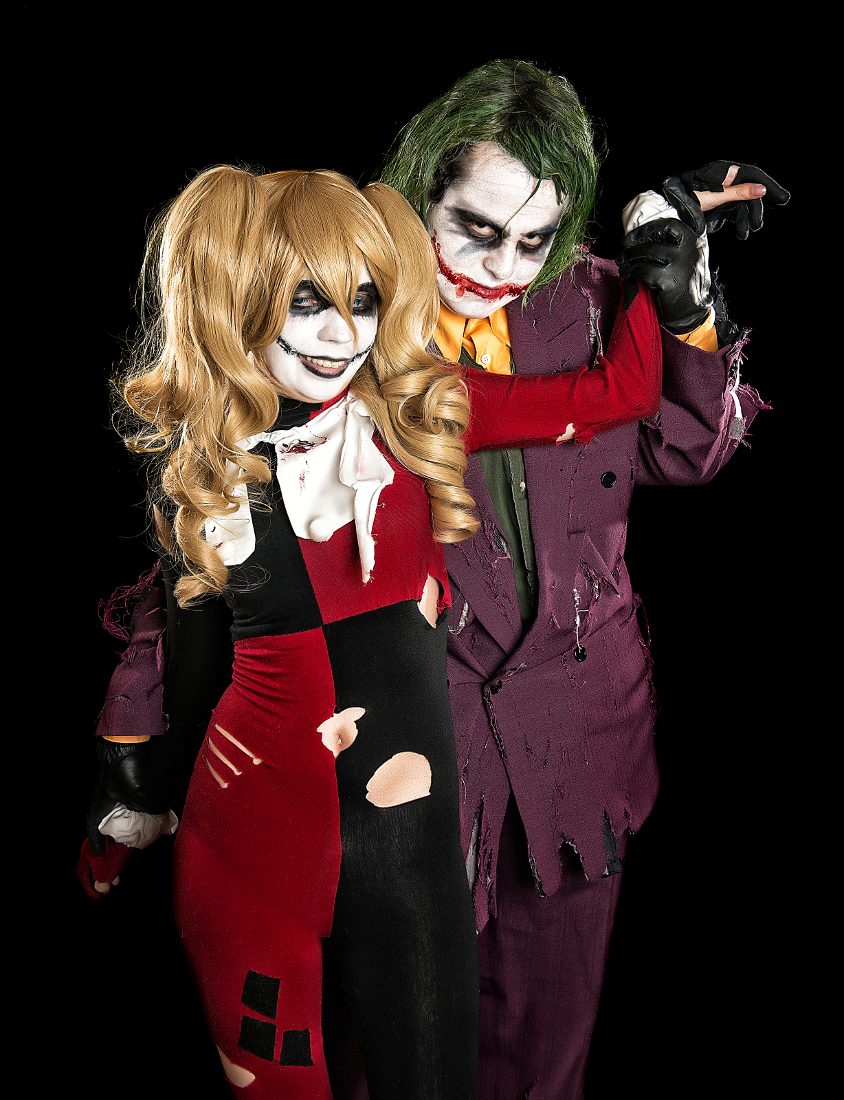 JokerxHarley: The Devil Made Me Do it by kay-sama