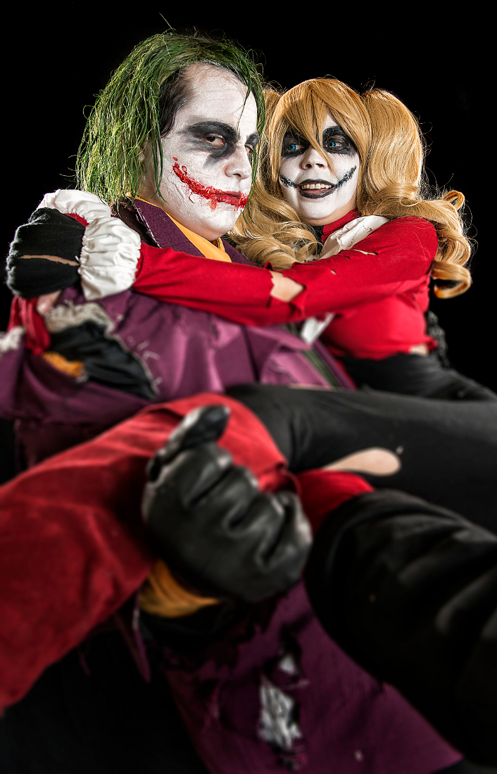 JokerxHarley: Misguided Devotion by kay-sama