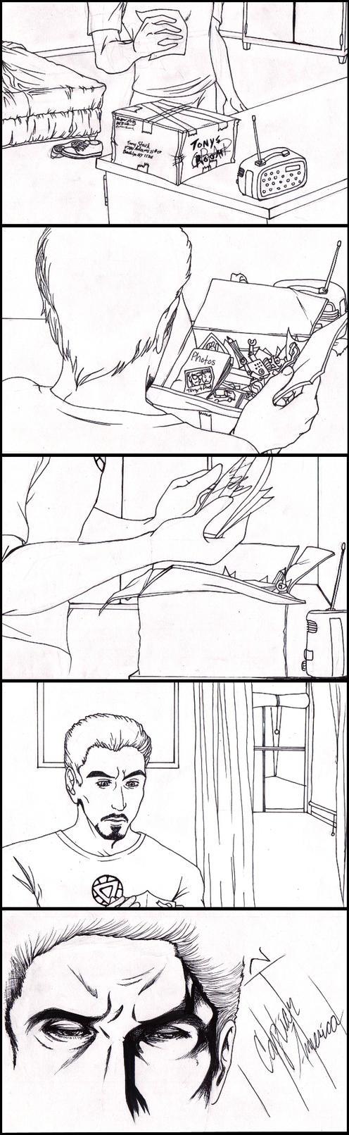 Stony: Mementos WIP by kay-sama