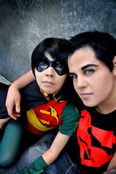 SuperboyxRobin: Titans by kay-sama