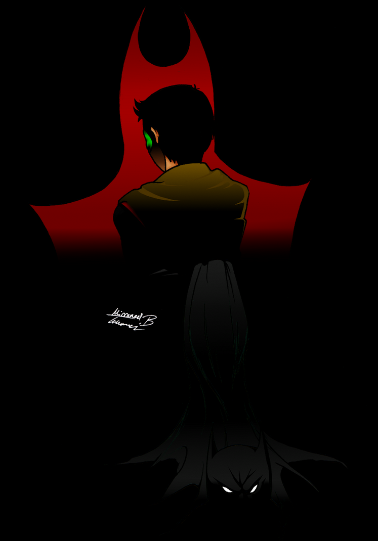Damian Wayne: No Faith by kay-sama