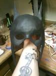Custom Batgirl Cowl