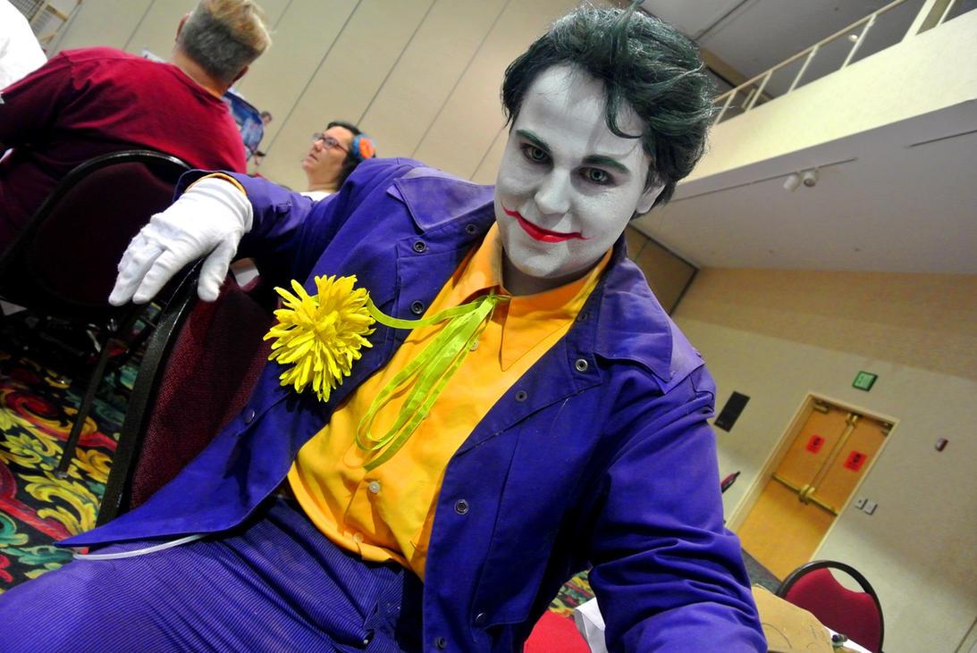 Comic Expo: Joker by kay-sama