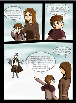 Jack Frost and the cold family meeting p.1 / 4