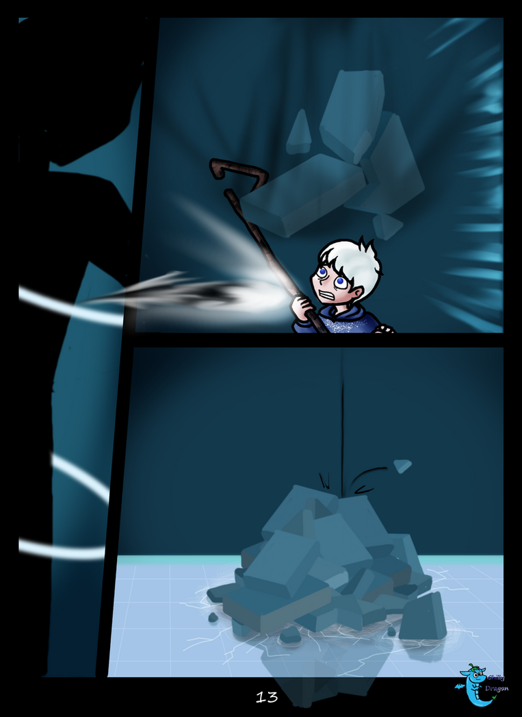 Jack Frost n Danny Phantom:IT NEVER DID HAPPEN p13 by chillydragon