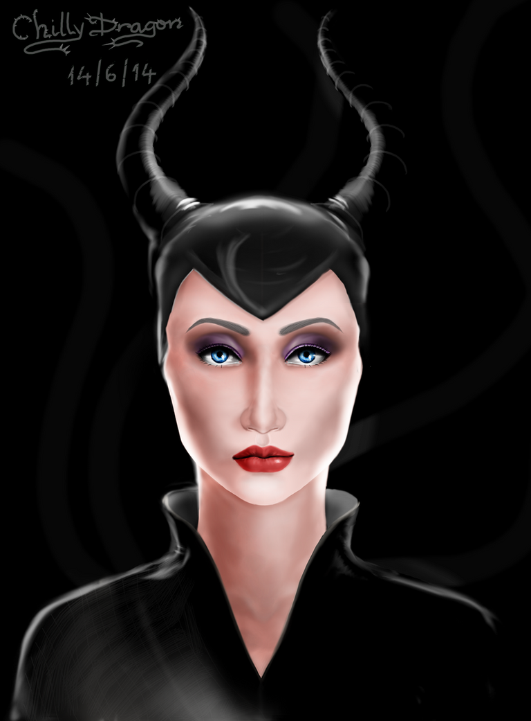 Maleficent by chillydragon