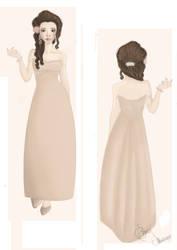 dress design by elvyDramileth