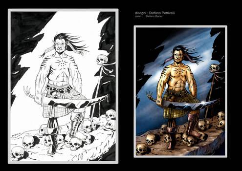 Barbarian Ogree Colored by Stefano Garau