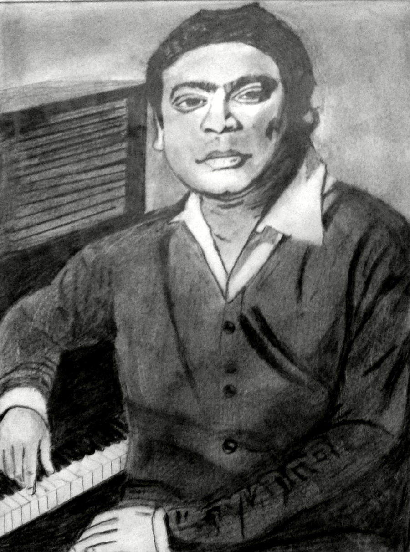 A R Rahman by dgsudharsan