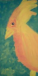 golden bird by finebyme