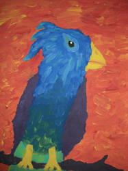 blue bird by finebyme