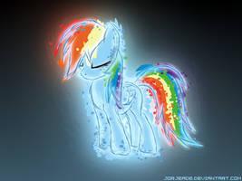 Rainbow Sketch by JorjEade