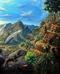 Canarias 1400 paisaje by 1oshuart
