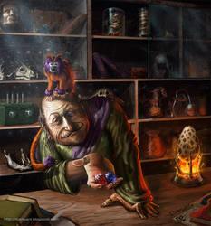 El vendedor misterioso