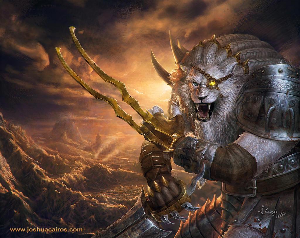 Rengar League of Legends by 1oshuart