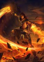 Destruction s avatar advanced version by 1oshuart