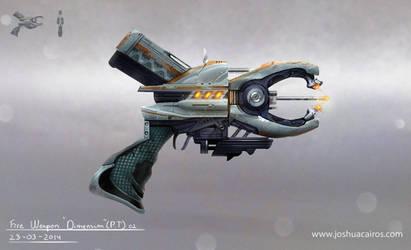 concept art weapon dimension PT 02 by 1oshuart