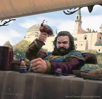 Robert Baratheon by 1oshuart
