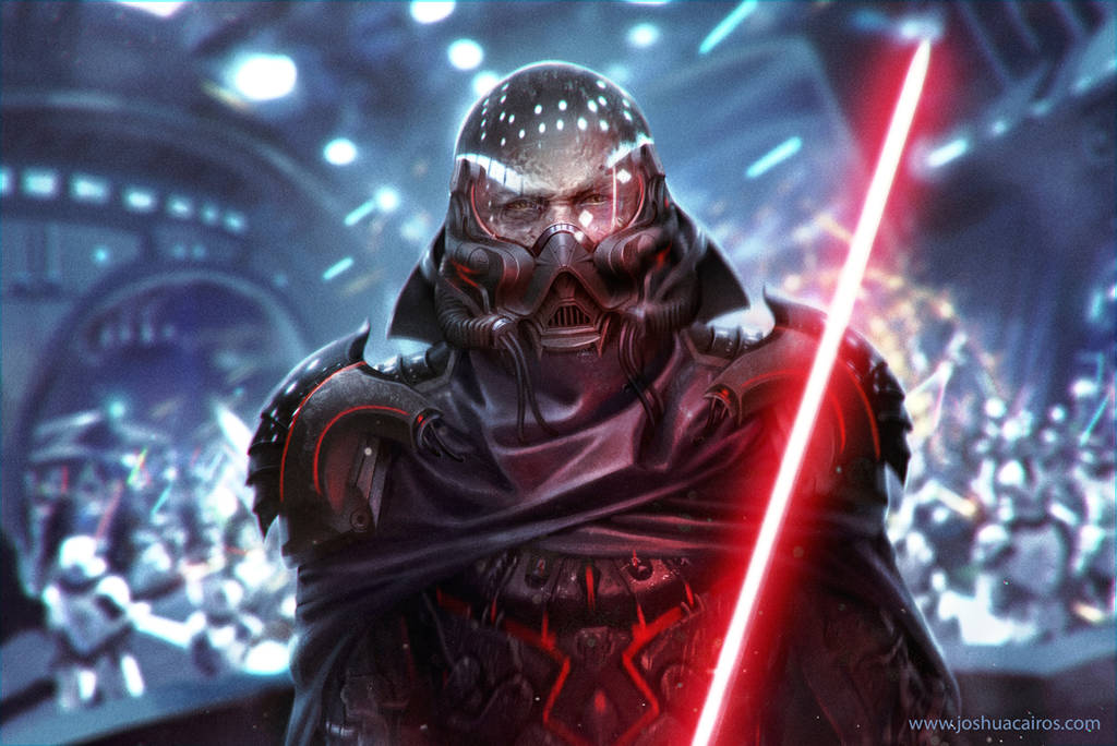 Darth Vader Redesign fan art by 1oshuart