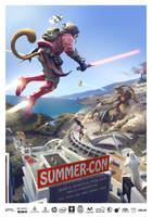Cartel SUMMER CON Tenerife 2015 by 1oshuart