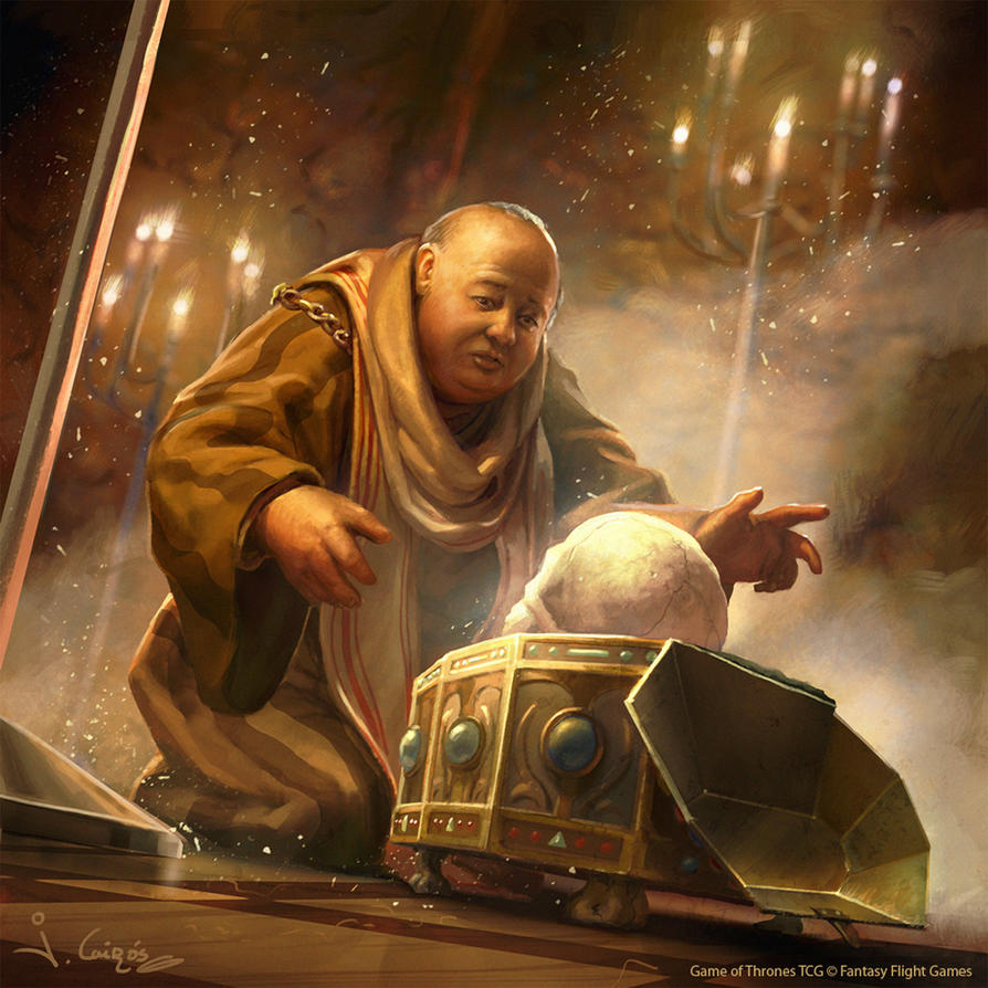 Maester Caleotte Game of Thrones TCG by 1oshuart
