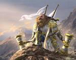 Gomur Bronzebeard by 1oshuart