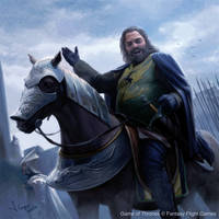 Robert Baratheon comes to Winterfell by 1oshuart