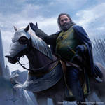 Robert Baratheon comes to Winterfell
