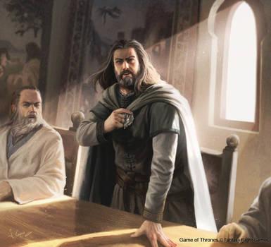 Ned Stark GOT tcg by 1oshuart