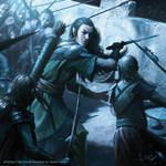 Legolas fighting