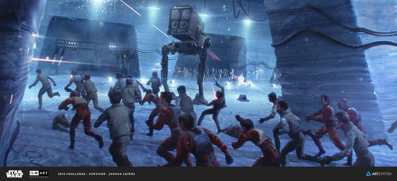 Counterattack in Hoth by 1oshuart