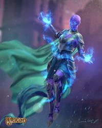 character design Arkon by 1oshuart