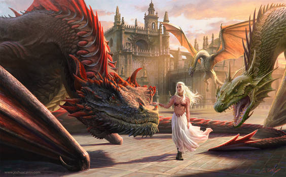 Mother of Dragons by 1oshuart