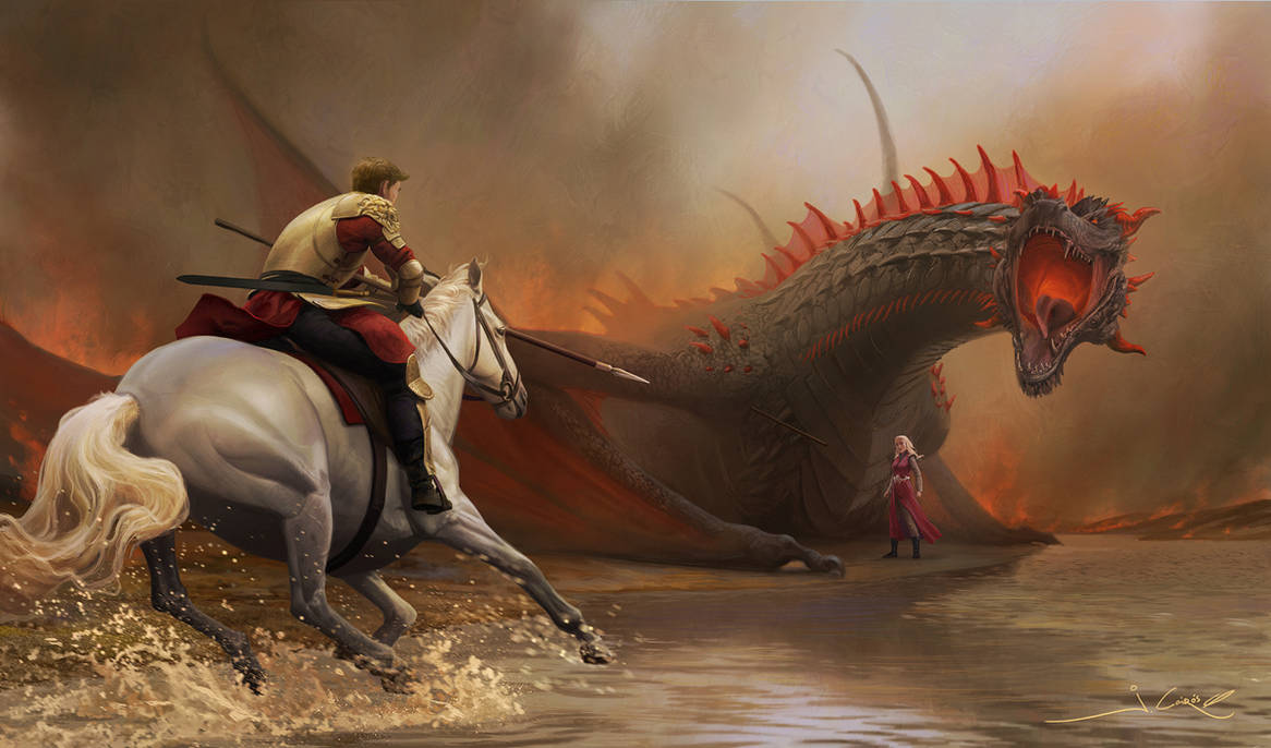 Jaime attacks by 1oshuart