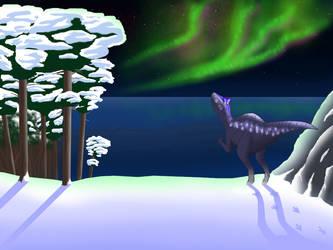 Jurassic Christmas by NefarusYul