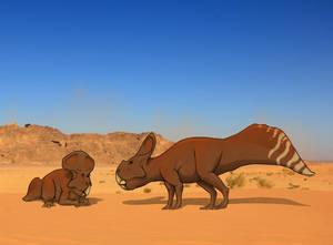 Humpback Protoceratops