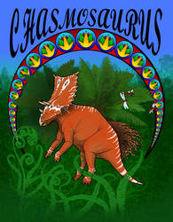 Chasmosaurus by NefarusYul