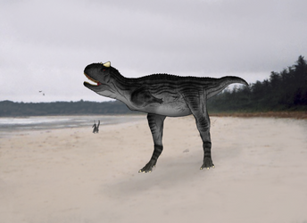 Carnotaurus by NefarusYul