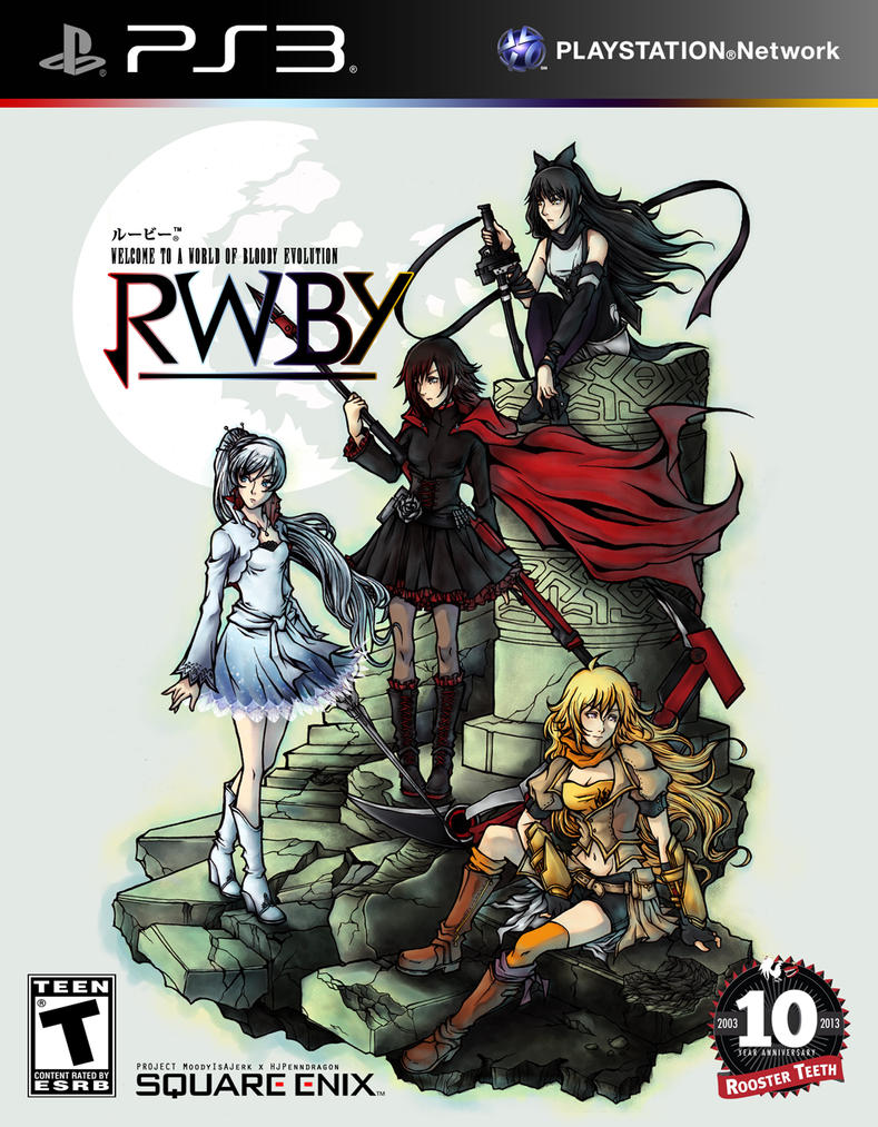 RWBY: Welcome To A World of Bloody Evolution by hjpenndragon